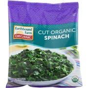 Earthbound Farm Organic Cut Spinach, 8 Ounce -- 12 per case.