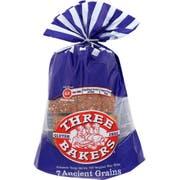 Three Bakers 7 Ancient Grains Whole Grain Bread, 17 Ounce -- 6 per case.