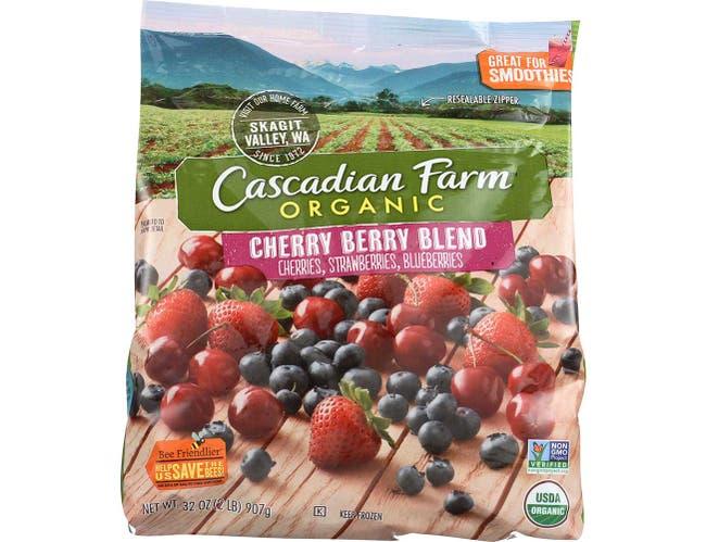 Cascadian Farm Organic Cherry Berry Blend, 32 Ounce -- 6 per case.