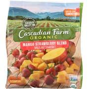 Cascadian Farm Organic Mango Strawberry Blend, 32 Ounce -- 6 per case.