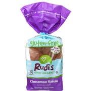 Rudis Gluten Free Cinnamon Raisin Bread, 18 Ounce -- 8 per case.