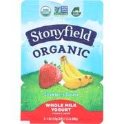YoToddler Organic Strawberry Banana with DHA Yogurt, 4 Ounce - 6 per pack -- 4 packs per case.