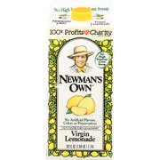 Newmans Own Organics Virgin Lemonade, 59 Ounce -- 8 per case.