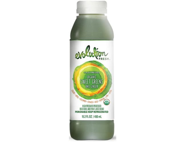 Evolution Fresh Organic Greens and Ginger Juice Blend, 15.2 Fluid Ounce -- 6 per case.