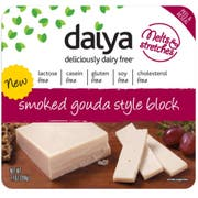 Daiya Foods Smoked Gouda Style Cheese Block, 7.1 Ounce -- 8 per case