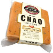 Field Roast Tomato Cayenne with Spicy Pepper Chao Slice, 7 Ounce -- 12 per case.