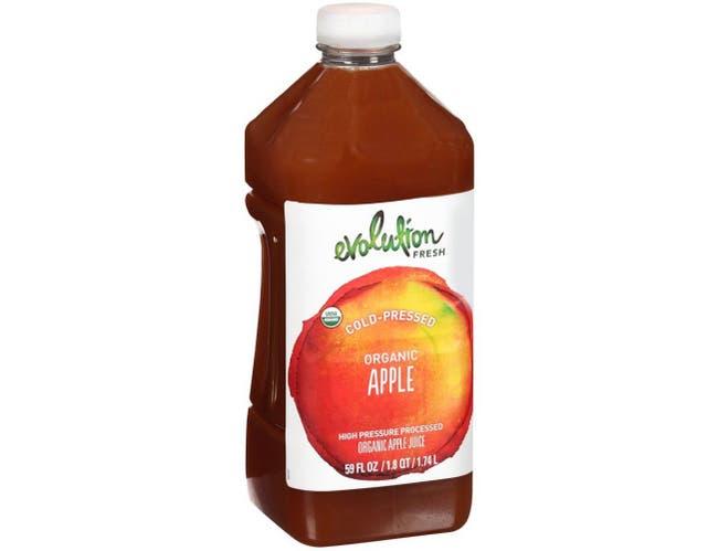 Evolution Fresh Organic Apple Juice, 59 Fluid Ounce -- 4 per case.