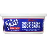 Tofutti Brand Blue Tub Non Hydrogenated Sour Supreme Cream, 12 Ounce -- 12 per case.