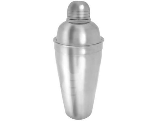 Co-Rect Brushed Stainless Steel Three Piece Jumbo Cocktail Shaker, 13.625 x 5.25 x 5.125 inch -- 12 per case.