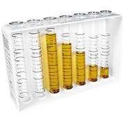 Co-Rect Complete Exacto Pour Tester Stand with 7 Tester Tubes, 3.5 x 8.5 x 13.625 inch -- 1 each.