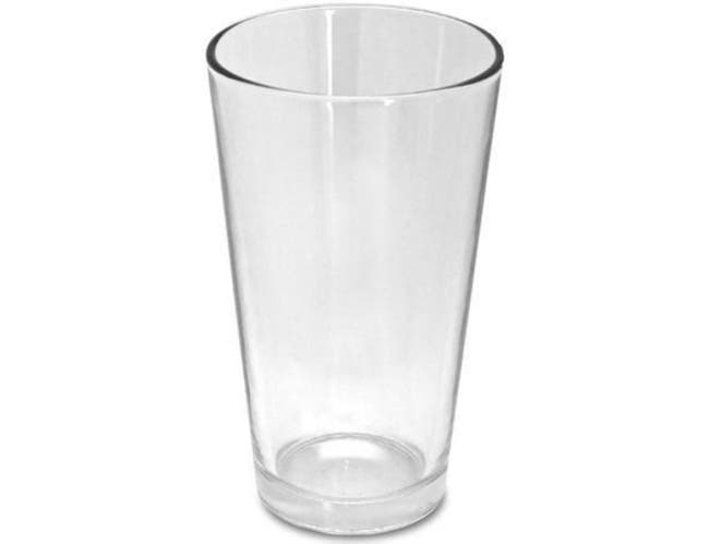 Co-Rect Mixing Glass, 16 Ounce -- 24 per case.