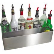 Co-Rect Stainless Steel Speed Rack - Holds 12 Liter Bottle Holder -- 1 each.