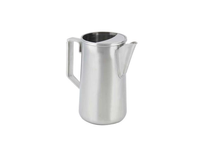 Bon Chef Stainless Steel Satin Finish Water Pitcher, 2.3 Quart Capacity -- 1 each.
