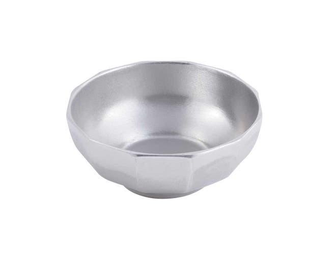 Black Bon Chef Sandstone Prism Footed Bowl, 16 x 5 1/2 inch -- 1 each.