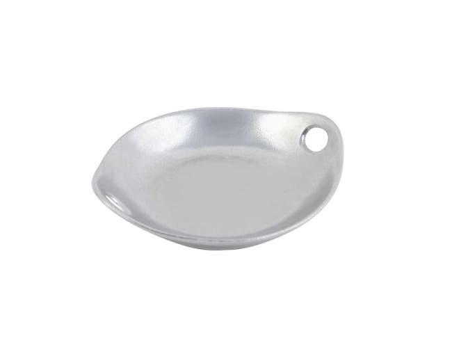 Terra Cotta Bon Chef Asian Fusion Sandstone Chop Stick Plate, 9 x 10 1/4 inch -- 4 per case.