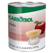 Carbotrol Applesauce, 105 Ounce -- 6 per case