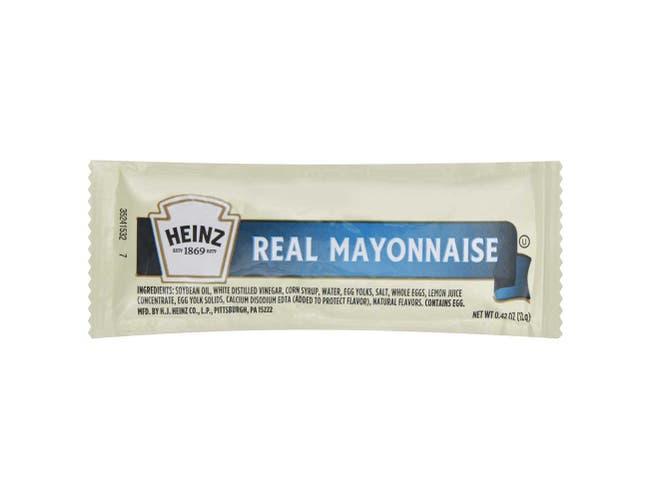 Mayonnaise Single Serve 500 Case 12 Gram
