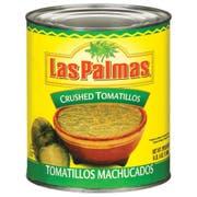 Las Palmas Crushed Tomatillos - 102 oz. can, 6 per case