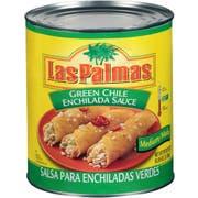 Sauce Las Palmas Green Enchilada Medium,  no.10 Can -- 6 Case 10