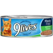 9 Lives Chicken Dinner Ground Entree Cat Food, 5.5 Ounce - 4 per pack -- 6 packs per case.