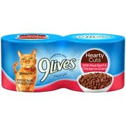 9 Lives Tender Slices with Real Beef in Gravy Cat Food, 5.5 Ounce - 4 per pack -- 6 packs per case.