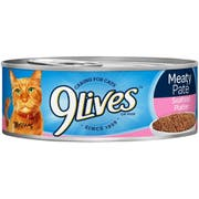 9 Lives Seafood Platter Ground Entree Cat Food, 5.5 Ounce -- 24 per case.