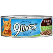 9 Lives Tender Slices with Real Chicken in Fish Gravy Cat Food, 5.5 Ounce -- 24 per case.