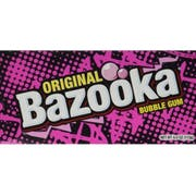 Bazooka Original Bubble Gum, 4 Ounce -- 12 per case.