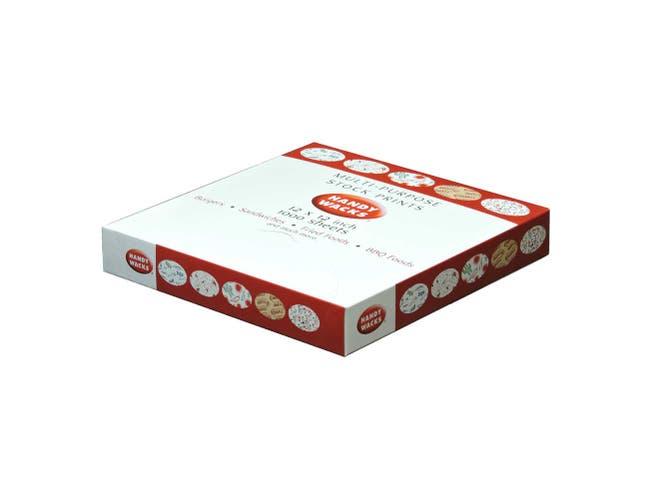 Handy Wacks Mexican Pepper Wrap, 1000 sheets per pack -- 3 per case.