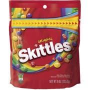 Skittles Original Candy, 9 Ounce -- 8 per case.