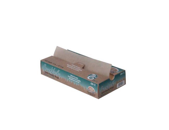 Handy Wacks Interfolded Green Wax Deli Paper, 12 X 10.75 inch -- 2000 sheets per case.
