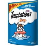 Temptations Classic Savory Salmon Flavor Cat Treats, 6.3 Ounce -- 10 per case.
