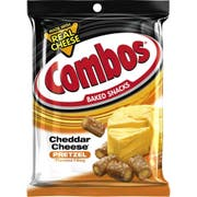 Combos Mixed Flavors Baked Snacks -- 72 per case.