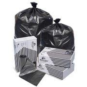 Pitt Plastics Black Low Density Perforated Can Liner -- 100 per case.