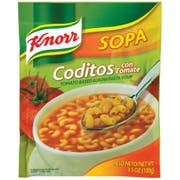 Knorr Tomato Based Elbow Pasta Soup, 3.5 Ounce -- 12 per case.