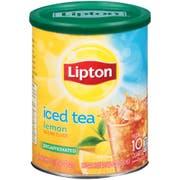 Lipton Lemon Decaffeinated Iced Tea, 10 Quart -- 6 per case.