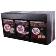 Beer Nuts Party Pack, 3 count per pack -- 18 per case.
