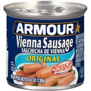 Armour Original Vienna Sausage, 4.6 Ounce -- 48 per case.