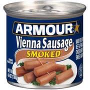 Armour Smoked Vienna Sausage, 4.6 Ounce -- 24 per case.