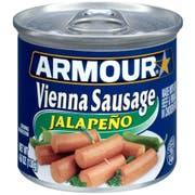 Armour Jalapeno Vienna Sausage, 4.6 Ounce -- 24 per case.