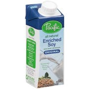 Pacific Foods Enriched Soy Original, 8 Ounce -- 24 per case.