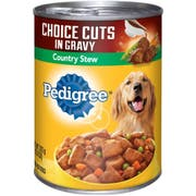 Pedigree Choice Cuts In Gravy with Country Stew Wet Dog Food, 13.2 Ounce -- 12 per case.