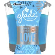 Glade Send A Little Love Holiday Candle Jar, 3.8 Ounce -- 6 per case.
