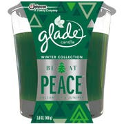 Glade Be At Peace Holiday Candle Jar, 3.8 Ounce -- 6 per case.