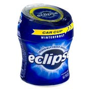 Eclipse Juicy Fruit Orbit Winterfrost Sugar Free Gum - Floor Display -- 40 per case.