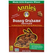 Annie's Homegrown Organic Chocolate Flavored Bunny Graham, 7.5 Ounce -- 12 per case