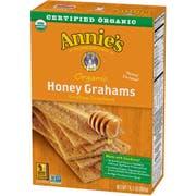 Annies Homegrown Organic Honey Graham Cracker, 14.4 Ounce -- 12 per case