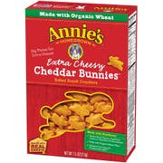 Annies Homegrown Organic Extra Cheesy Cheddar Bunny, 7.5 Ounce -- 12 per case