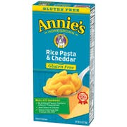 Annies Homegrown Gluten Free Rice Pasta and Cheddar, 6 Ounce -- 12 per case