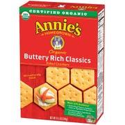 Annies Homegrown Organic Classics Buttery Rich Baked Bunny Cracker, 6.5 Ounce -- 12 per case